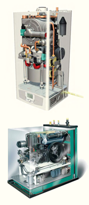 Sistemas eficientes / Microcogeneración | Bomba de Calor | Renovables | Crisol Energía Responsable